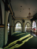 Inside Masjid Abdul Mosque, Singapore, Singapore Photographic Print by Michael Coyne