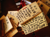 Traditional Prayer Boards Tokyo, Kanto, Japan Photographic Print by John Hay