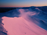 Dawn on Mt. Northcote on the Main Range in Winter, Kosciuszko Nat. Park, New South Wales, Australia Photographic Print by Grant Dixon