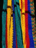 Close Up of Hammocks, San Pedro, Sula, Honduras, Photographic Print