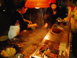 Street Food Stall, Central Macau, Macau, China Photographic Print by Lawrence Worcester