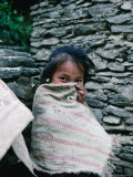 Shy Gurung Girl, Nepal Photographic Print by Shannon Nace
