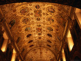 Ceiling of Iglesia De Santo Domingo, Oaxaca City, Mexico Photographic Print by Charlotte Hindle