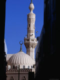 Dome and Minaret of Mosque, Dubai, United Arab Emirates Fotografie-Druck von Phil Weymouth