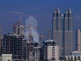 City Skyline, Dubai, United Arab Emirates Photographic Print by Phil Weymouth