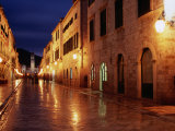 Placa at Twilight, Dubrovnik, Croatia Photographic Print by Richard Nebesky
