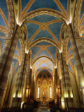 Interior of St. Lorenzo Cathedral, Alba, Italy Photographic Print by Martin Moos