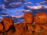 Devil's Marbles Near Tennant Creek, Devil's Marbles Conservation Reserve, Australia Photographic Print by Krzysztof Dydynski