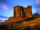 Exterior of City Observatory on Calton Hill, Edinburgh, United Kingdom Photographic Print by Jonathan Smith