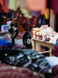 Woman Amongst Stalls at Friday Market, San Francisco El Alto, Guatemala Photographic Print by Ryan Fox