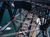 Detail of Sydney Harbour Bridge, New South Wales, Australia Photographic Print by John Borthwick