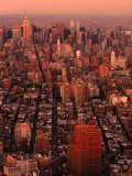 Cityscape from World Trade Center, New York City, New York, USA Photographic Print by Angus Oborn