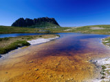 The Overland Track and Cradle Mountain from Kathleens Pool, Tasmania, Australia Photographic Print by Grant Dixon