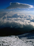 Clouds off Mount Fuji, Mt. Fuji, Japan Photographic Print by Martin Moos