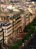 Champs Elysees Seen from Arc De Triomphe, Paris, France Photographic Print by Jonathan Smith