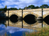 Ross Bridge Over Macquarie River Ross, Tasmania, Australia Photographic Print by Barnett Ross