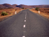 Silver City Highway Near Broken Hill, New South Wales, Australia Photographic Print by Angus Oborn