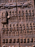 Detail of a Dogon Granary Door, Tirelli, Mali Photographie par Patrick Syder