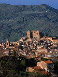 Castelbuono Hilltop Village, Italy Photographic Print by Wayne Walton