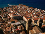 Coastal Town, Cefalu, Italy Photographic Print by Wayne Walton