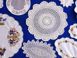 Lace Doilies, Peloponnese, Greece Photographic Print by Diana Mayfield
