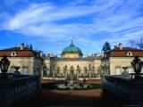 Exterior of Buchlovice Chateau, Czech Republic Photographic Print by Richard Nebesky