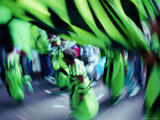 Notting Hill Carnival, Blur, London, United Kingdom Photographic Print by David Wall