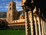 Duomo Cloister, Monreale, Italy Photographic Print by Wayne Walton