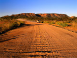 The Sealed Ross Highway Near the Historic Settlement of Arltunga, Northern Territory, Australia Photographic Print by Barnett Ross