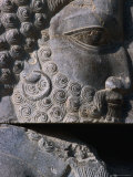 Detail of Statue Persepolis (Takht-E Jamshid), Fars, Iran Photographic Print by Phil Weymouth
