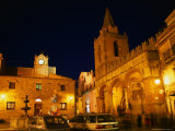Piazza Margherita at Castelbuono, Italy Photographic Print by Wayne Walton