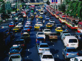 Rush Hour Traffic, Bangkok, Thailand Photographic Print by Kraig Lieb