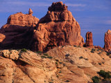 Rock Formations in Garden of Eden, Arches National Park, Utah, USA Photographic Print by Gareth McCormack
