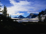 Mist Over Bow Lake, Banff, Canada Photographic Print by Rick Rudnicki