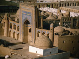 The Madrassa, Khiva, Khorezm, Uzbekistan Photographic Print by Jane Sweeney