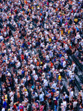 Spectators at Oriole Park at Camden Yards Baseball Stadium, Baltimore, USA Photographic Print by Richard I'Anson