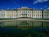 The 18th Century Baroque Rundale Palace in Zemgale, Bauska, Latvia, Photographic Print by Jane Sweeney