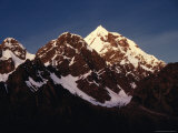 Mountain Peak with Snow, Puno, Vilcanota, Cuzco, Peru Fotografie-Druck von Richard I&#39;Anson