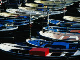 Boats Moored in Harbour, Mundaka, Pais Vasco, Spain Photographic Print by Mark Daffey