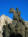 Detail of Atatuak Statue, Amasya, Turkey Photographic Print by Wayne Walton