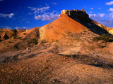 Mesa-Like Formation at the Painted Desert(Arckaringa Hills), South Australia, Australia Photographic Print by Barnett Ross
