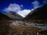 Mt. Thomolhari, Bhutan Photographic Print by Nicholas Reuss