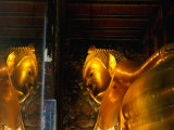 Reclining Buddha at Wat Pho, Bangkok, Thailand Photographic Print by Ryan Fox