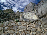Ruins at Ancient Inca City, Machu Picchu, Cuzco, Peru Fotografie-Druck von Richard I&#39;Anson