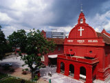 Exterior Christ Church, Melaka, Malaysia Photographic Print by Richard I'Anson