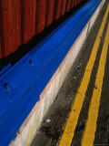 Side of Pavement, Stirling, United Kingdom Photographic Print by Martin Moos