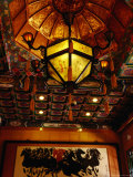 Fangshang Restaurant Mural, Beijing, China Photographic Print by Diana Mayfield