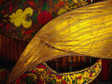 Detail of Traditional Kites, Kota Bharu, Kelantan, Malaysia Fotografie-Druck von Richard I&#39;Anson
