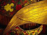 Detail of Traditional Kites, Kota Bharu, Kelantan, Malaysia Photographic Print by Richard I'Anson