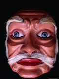 """Topeng Tua, Mask Worn by Performer Doing """"Old Man Dance,"""" Ubud, Ubud, Indonesia Photographic Print by Adams Gregory"""